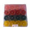 Caja de velas hexagonales